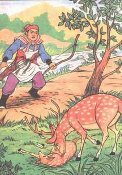 18.  The Mother Deer